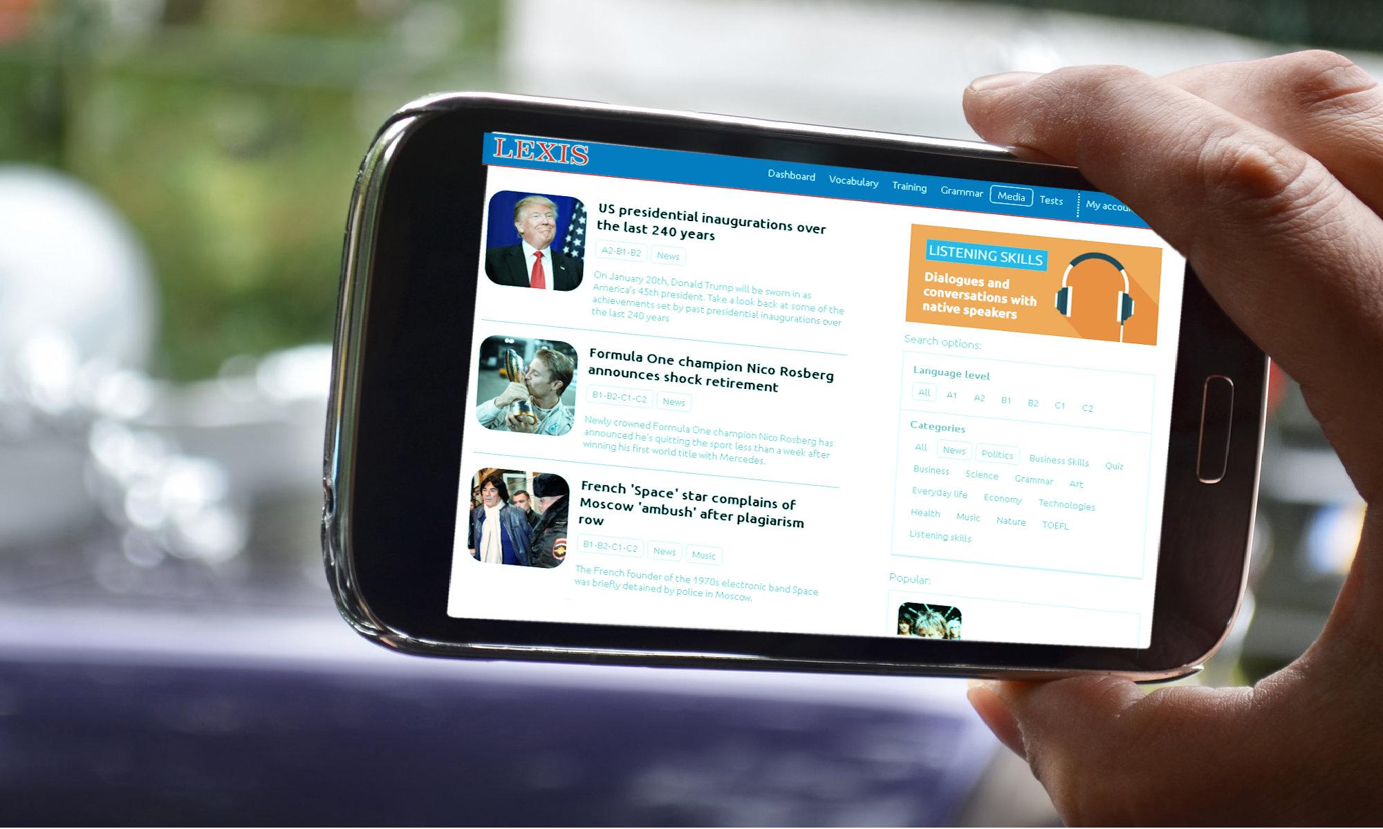 Online angielski to platforma e- learningowa dla dzieci, młodzieży i dla dorosłych z ćwiczeniami, nauką słówek, scenkami wideo itp.